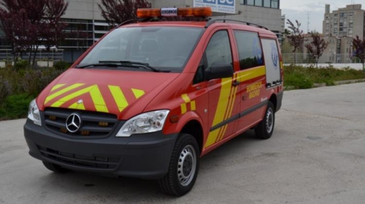 Furgonetas Mercedes-Benz para los bomberos de Madrid