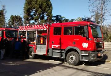 Cuatro nuevos carros bomba para el de Municipios del Punilla.