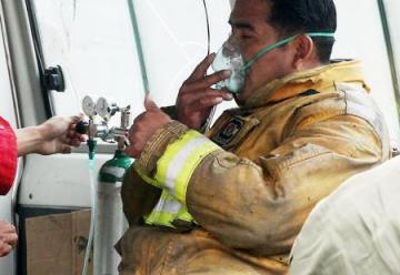 Incendio desvela falencias crónicas de los bomberos