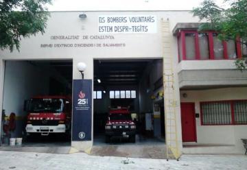 La Generalitat construirá un parque de bomberos voluntarios en Sant Vicenç dels Horts
