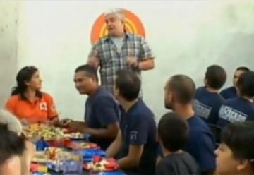 Los chicos de MasterChef Junior le cocinaron a los bomberos de la Boca