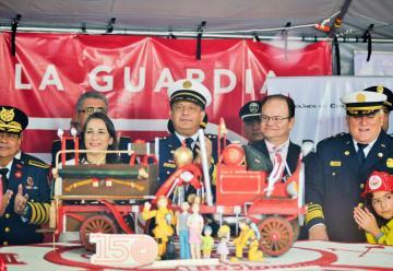 150 aniversario de Bomberos de Costa Rica