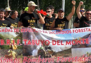 Bomberos forestales inician una huelga indefinida contra sus condiciones laborales