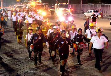 Celebran Día Nacional del Bombero en Nicaragua