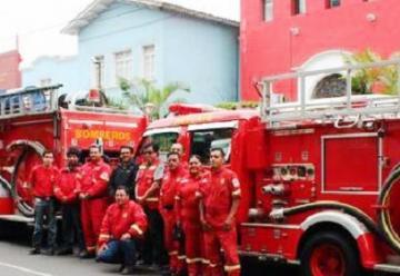 Bomberos de San Martin reciben 5 vehículos