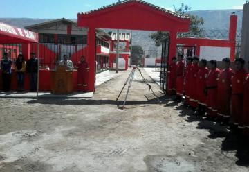 Distrito de Calana cuenta con un nuevo cuartel para la compañía de bomberos