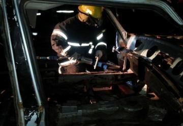 Bomberos realizó jornadas de rescate vehicular
