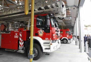 Mejoras del parque de bomberos de Teis