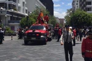 La muerte de dos bomberos en Ecuador bajo investigación