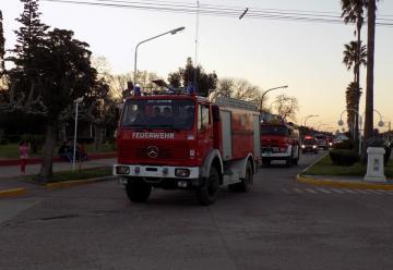 Nueva autobomba forestal para Bomberos Voluntarios de Salazar
