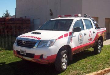Otra unidad para los Bomberos Voluntarios de Villa Iris