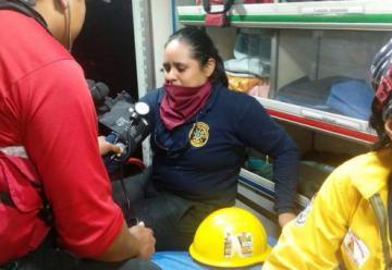 Cinco bomberos de Guayaquil recibieron atención médica