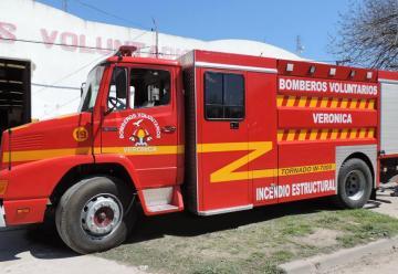 Bomberos Voluntarios de Verónica adquirió nueva autobomba