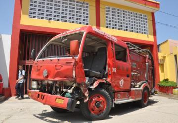 Alcaldía vs bomberos: 'rifirrafe' de nunca acabar en Fundación