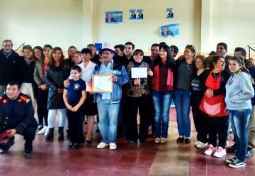Nueva asociasion de Bomberos Voluntarios de Lafinur