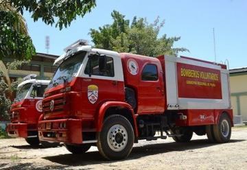 Nuevas Unidades contraincendios para bomberos
