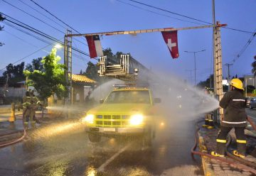 Bomberos Pelequén recibió nuevo unidad de sus pares de suiza