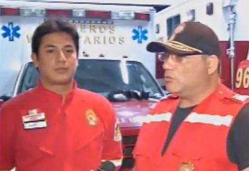 Un bombero fue agredido por sujetos que no le dieron paso a una unidad en emergencia