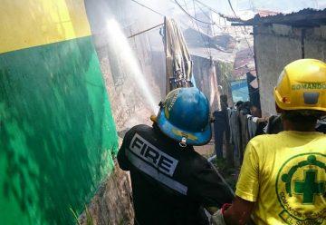 Mas de siete viviendas consumidas por incendio