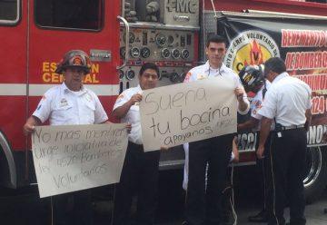 Bomberos Voluntarios piden más presupuesto