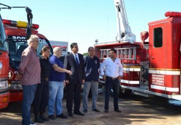 Bomberos de San Fernando recibió cuatro nuevas autobombas