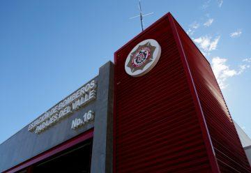 Entregan estación de bomberos en Zona Este