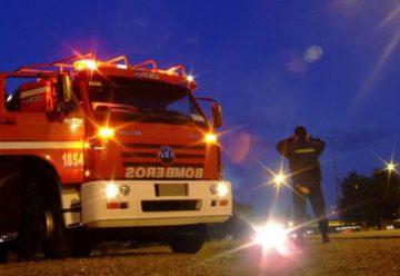 Bomberos realizarán mañana un toque de sirena solidario por las víctimas de tránsito