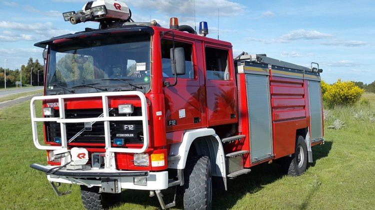 Nuevo camión forestal para Bomberos de Oriente
