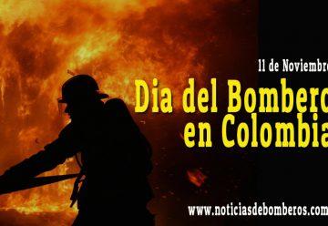 Dia del Bombero en Colombia