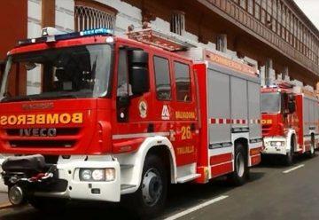 Bomberos con nuevos vehículos multipropósitos para emergencias