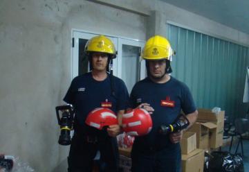 Nuevos equipos para los  Bomberos Voluntarios de San Vicente