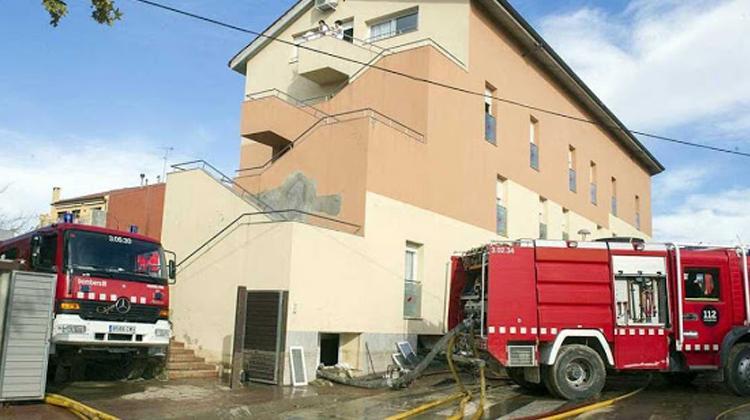 Los bomberos alertaron del peligro al geriátrico