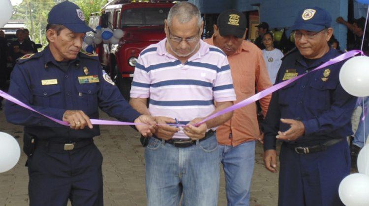 El municipio de Santo Tomás, Chontales, ya cuenta con una estación de Bomberos.