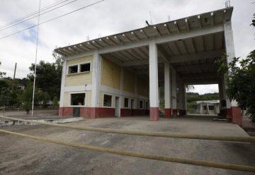 Estación de bomberos lleva cuatro años abandonada en Sabanagrande