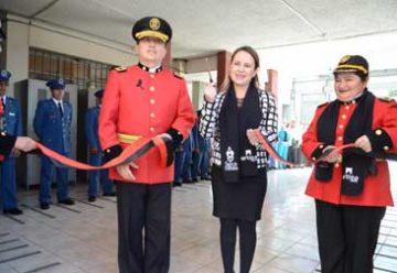 Cuerpo de Bomberos de Otavalo tiene nueva edificación