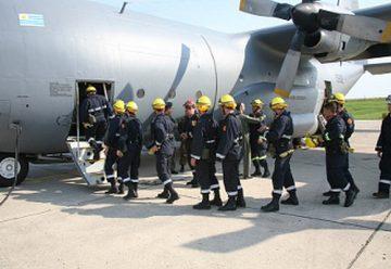 Bomberos incorpora tres brigadas aéreas para combatir siniestros forestales