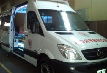 Bomberos Voluntarios de Lujan adquirió una ambulancia con mayor tecnología