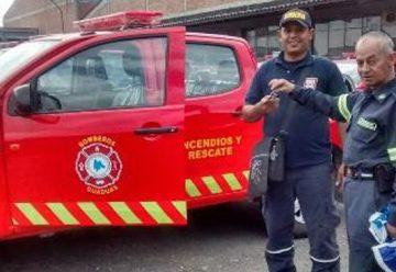 Nuevos equipos para los bomberos de Cundinamarca