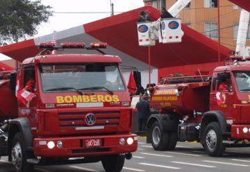 Bomberos reciben hoy modernos vehículos por parte del Gobierno