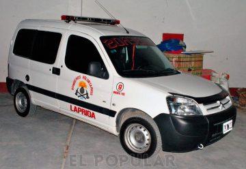 Bomberos de Laprida presentó obras y una nueva unidad vehicular