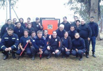 En el barrio El Peligro funciona un nuevo cuartel de bomberos