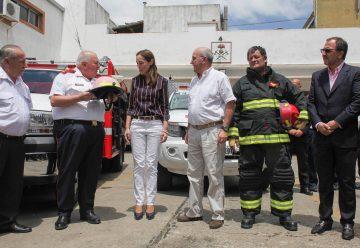 Vidal recibió a Federaciones de Bomberos Voluntarios