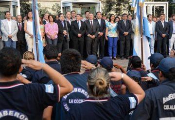 Reconocimiento a los Bomberos Voluntarios de Tucumán
