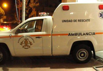 Bomberos Voluntarios de Castelli incorporo una ambulancia