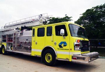 Refinería incorpora nueva unidad contra incendios
