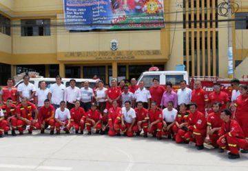 Crean compañía de bomberos voluntarios «Salvadora Utcubamba»