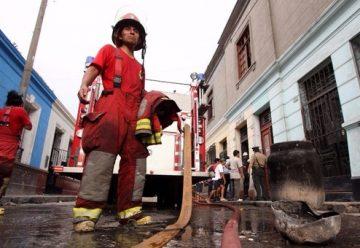 Bomberos registraron 306 emergencias en Lima