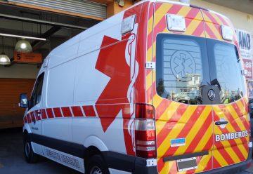 Bomberos de General Sarmiento cuenta con una nueva ambulancia