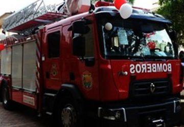 Máquina para incendio en alturas recibió Bomberos Villavicencio