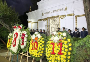Bomberos de Temuco conmemoró el centenario de su primer martir